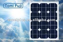 18V 15w solar power monocrystalline solar module