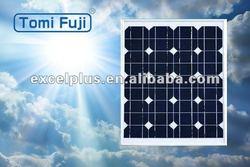 Photovoltaic monocrystalline 30 watt solar panels, aluminum frame solar panels