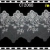 2013 Bridal veil embroidered lace trim CT2068