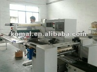 automatic shrink wrapping machine for vegetable