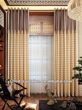 2015 the good qualiry elegent design big hook fabric curtain