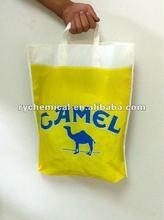 loop handle advertising kidney punch handle camel bag