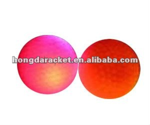 verious colors LED flashy golf ball for night training----BSCI FACTORY