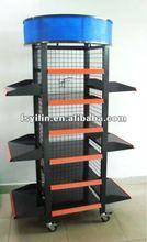 DR59-A powder coating metal display rack