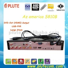 Good & Lowest Azamerica S810B with USB 2.0 + RS232+HDMI Output