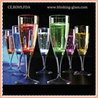 LED Flashing Wine Champagne Glass