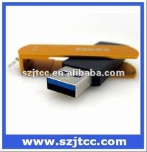 Top sell Mini USB stick 3.0, Metal Swivel 3.0 USB Pen drive, Waterproof U disk