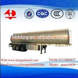 3-Axle,52000Litres,aluminum fuel tanker semi trailer