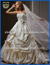 2012-13 New Design Champagne Wedding Dress YEWDF-15