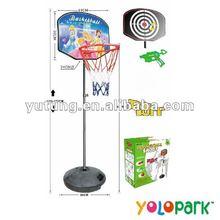 2 IN 1 Basketball Backboard & Soft Gun CX11-7