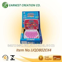 NEW Pink English and spnish double languages Laptop for kid