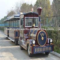 Diesel Engine Amusement Park Passanger Road Train