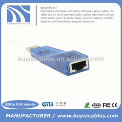 New USB 2.0 to RJ45 Ethernet LAN Network Adapter