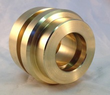 china special custom oil grooved brass copper bushing