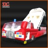 Attractive Large Emulational Car Inflatable Castle Slide