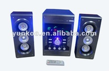 wholesale 2.1 multimedia computer speaker USB/SD/FM remote control function
