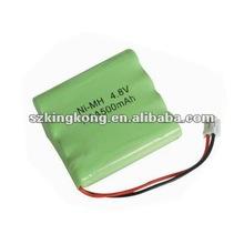 NI-MH rechargeable battery packs 4NH-AAA500MAH