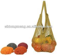 Reusable Cotton Mesh String Market Shopping Tote Bag(CMB-002)