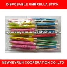 disposable Umbrella Stick