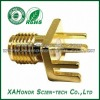 SMA Female RF Connector With Microstrip For PCB Mount