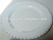 Plastic Plate w.Stones