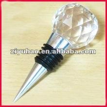crystal golf ball wine stopper