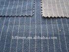 Twill Linen cotton denim fabric