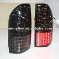 1998 - 2003 Year Prado 3400 FJ90 LED de la lámpara de cola de humo negro cristal V3