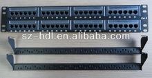 12/24/48 Port CAT5E/CAT6 FTP/UTP 48 Port patch panel