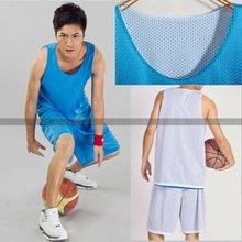 Light blue white mesh sportwear custom basketball jersey design