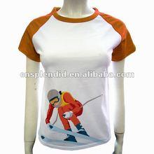 2012 Hotest sales cotton sports picture t shirt print designs
