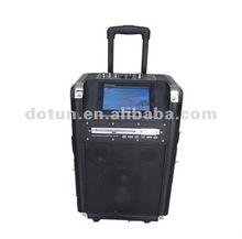 trolley Speaker for DVD/Wireless/USB