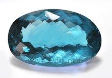 2012 Hotsale Oval Shape color changed Fluorite