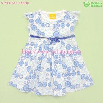 2013 baby girls fancy summer dress baby dresses