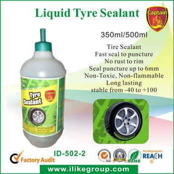 Latex Tire/tyre repair Sealant manufacturer/factory (ROHS certificate)