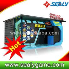 2014 hotest simulator hydraulic system 5d,6d cinema machine