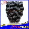 Factory wholesale good quality Virgin Peruvian remy hair extensions