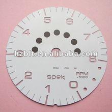 Premium backlit gauges and dash panel