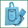 Travel Promotion pp non woven foldable bag/pp shopping bag