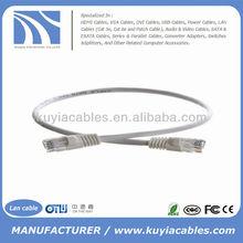 30cm Short UTP Cat6 Cat6e Cat 6 Patch Cord Ethernet Network Lan Cable 4pr 24awg