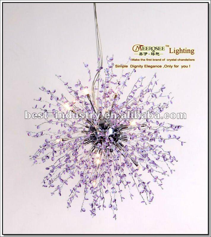 Zhongshan huayi vetro colorato lampadari, lampadari con sfere di ...