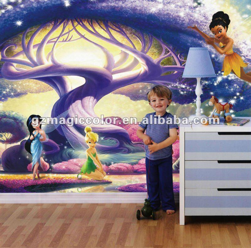 Papel de parede para quarto de crianças