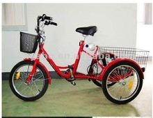 200W/250W/350W Cargo Tricycle Three wheels Electric Bicycles with Basket