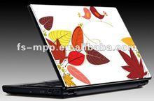 Fancy 3D lenticular fashion PVC/PP/PET computer panel sticker, laptop skin