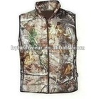 Winter Fashion Safety Vest,Camo Hunting Heated Vest