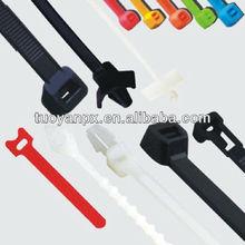 self-locking plastic cable tie strap