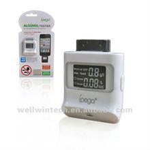 digital alcohol breath tester breathalyzer for iphone/ipad/ipod