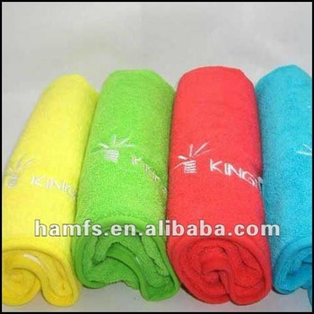 With Logo GYM Sports Towel Embroidered