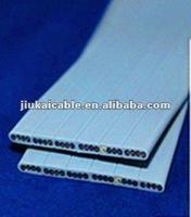 PVC Flexible Flat Elevator Traveling Cable 24x0.75mm2