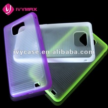 wholesale price protectors cell case for samsung galaxy s 2 soft cover